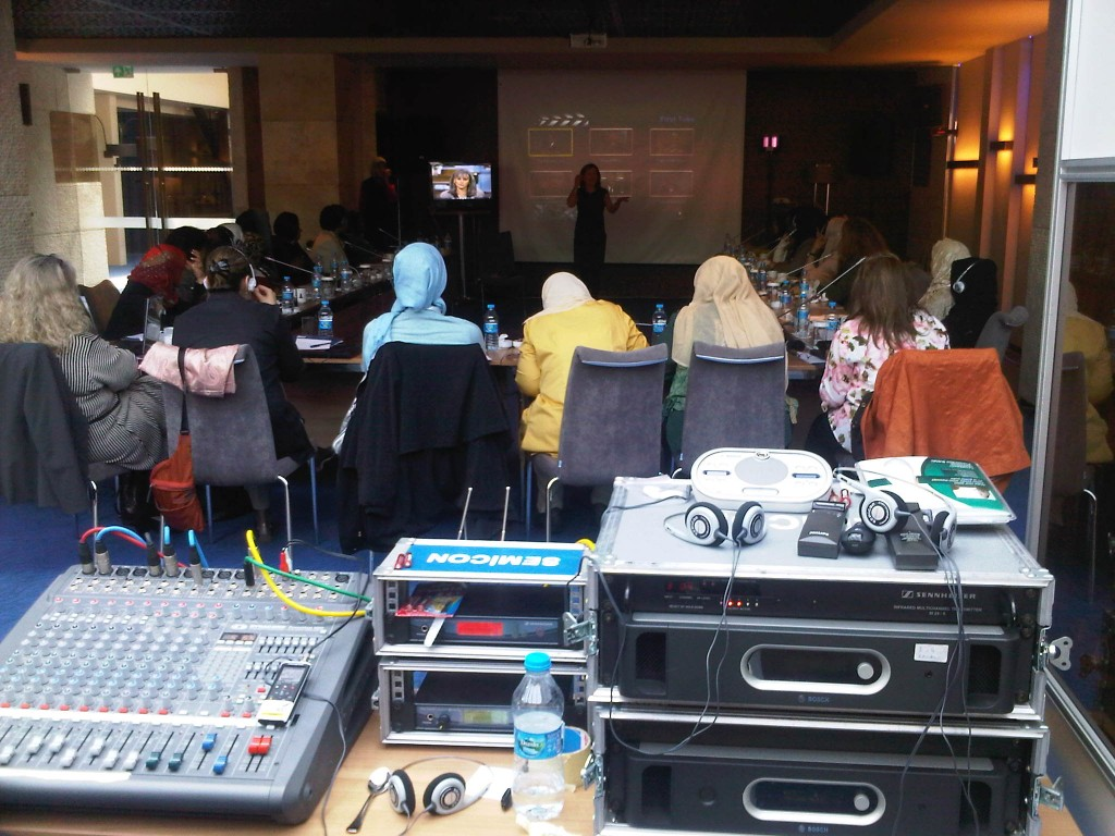 Nova Cooperates with NDI for their Women in Media Event in Istanbul