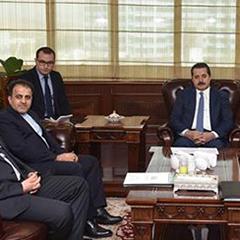 Bakan Çelik'in IFAD ve D-8 Genel Sekreterleriyle görüşmesinde sözlü çeviri hizmeti verdik