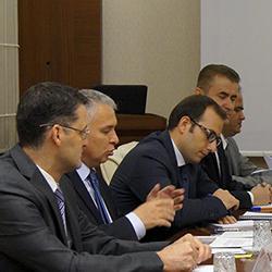 AB ve Dış İlişkiler Dairesi Başkanlığı Müsteşar Yardımcısı Sayın Aziz YILDIRIM'ın Tercümanlığını Gerçekleştirdik
