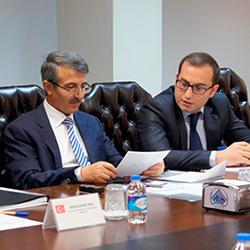 AB ve Dış İlişkiler Dairesi Başkanlığı Müsteşarı Sayın Mükerrem Ünlüer'in tercümanlığını gerçekleştirdik
