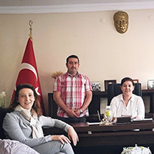 AB Projesi ile Kalite Kontrol Birimleri Ziyaretlerinde Sözlü Tercüme ve Refakat Hizmeti Verdik