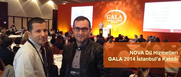 NOVA, GALA 2014 İstanbul Konferansına Katıldı