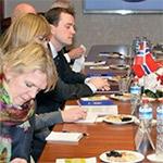 Norveç Dışişleri Bakanlığı Heyetine Sözlü Çeviri Hizmeti Verdik