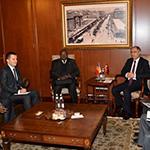 İçişleri Bakanı Efkan Ala ile Çad Heyeti arasındaki resmi görüşmelerde çeviri hizmeti sunduk