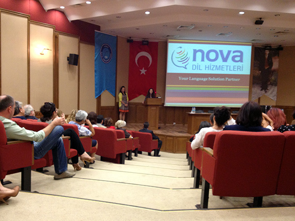 Nova Staff Gives Corporate Presentation to Gazi University's Faculty of Pharmacy